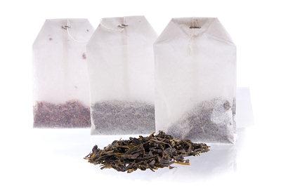 Bolsas de té negro