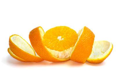 cascara de naranja
