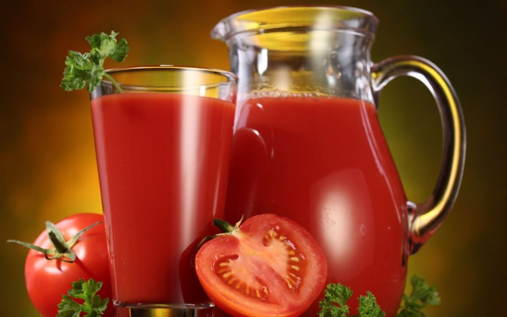 Jugo de tomate