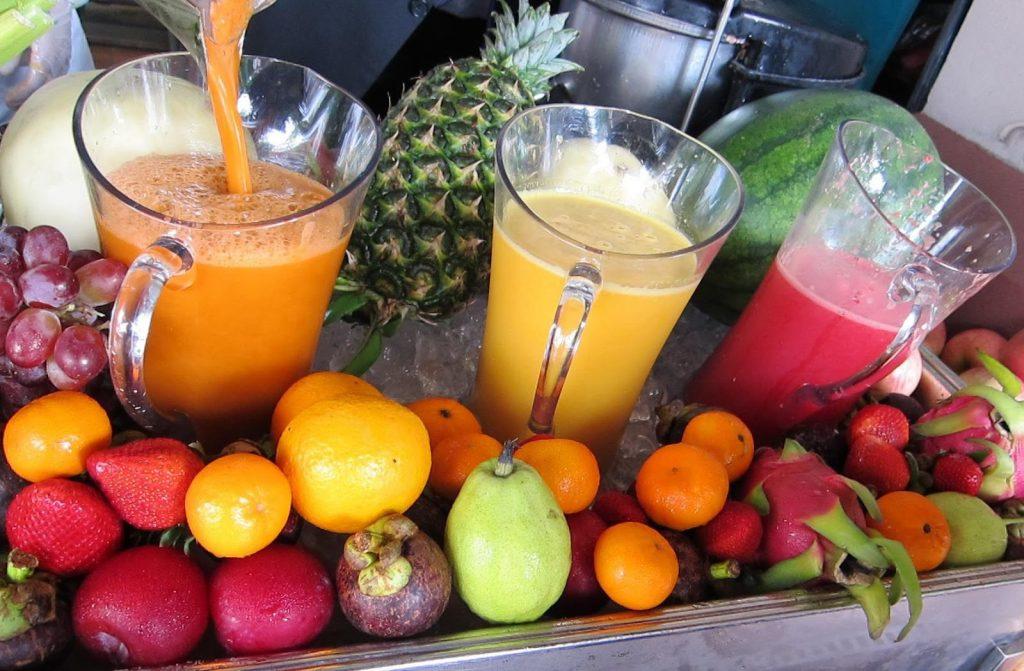 Jugos de fruta