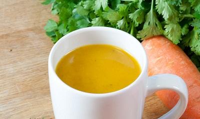 Zanahoria y Cilantro