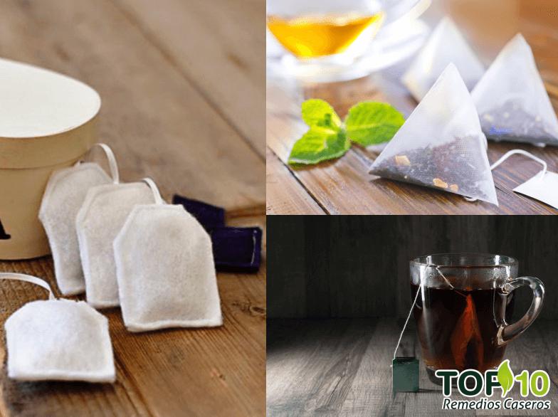 Beneficios de bolsas de te
