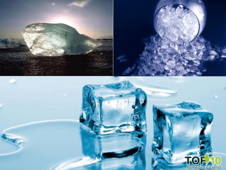 Beneficios del hielo
